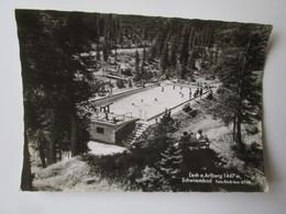 Lech Am Arlberg 1447 M, Schwimmbad. Foto Risch-Lau 6748 Postmarked 1962 - Lech