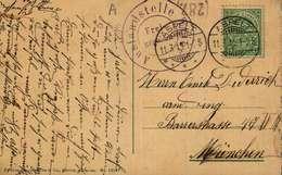 Luxembourg Entrée Et La Ville - Passerelle   Cachet Postal : Aspelt : 11.3.15. - Luxembourg - Ville