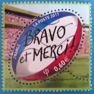 France 2011 : Coupe Du Monde De Rugby En Nouvelle-Zélande N° 4612 Oblitéré - France