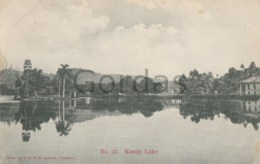 Sri Lanka - Ceylon - Kandy Lake - Sri Lanka (Ceylon)
