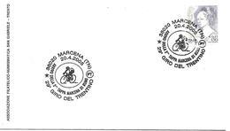 SG0510  - ANNULLO MARCENA - ARRIVO DELLA 2^ TAPPA MARCENA DI RUMO - 29° GIRO DEL TRENTINO - 20.4.2005 - 6. 1946-.. Repubblica