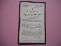 D.P.-LUDOVICA FAELENS °DRONGEN 7-1-1835+ALDAAR 17-12-1917 - Religion & Esotérisme