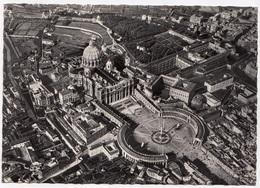 CITTA' DEL VATICANO, Veduta Generale, General View, Real Photo, Vera Fotografia Postcard [23092] - Vatican