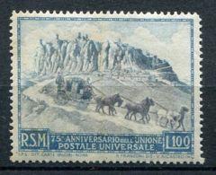 SAINT-MARIN ( POSTE ) : Y&T  N°  342  TIMBRE  NEUF  SANS  TRACE  DE  CHARNIERE , ROUSSEUR . - Saint-Marin