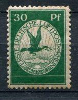 ALLEMAGNE (  AERIEN ) : PRECURSEUR  POSTE  AERIENNE  1912 ,  TIMBRE  NEUF  AVEC  TRACE  DE  CHARNIERE , ROUSSEUR . - Poste Aérienne