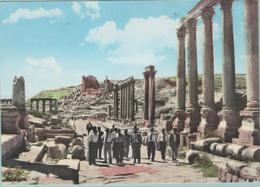 CPM:    JERICO  (jordanie):    La Rue Des Colonnes à Jerash.    (E1659) - Jordanie