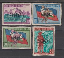 HAITI  OLYMPIC 1960   Complete Set **MNH  Ref. 9594 C - Haïti