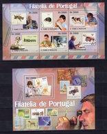 Sao Tome 2010 - Philatelists - Portugal Stamps On Stamps (TT)  MNH** Ci - Art