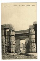 CPA - Carte Postale -Egypte -Thèbes-Temple De Kournah, Porte Est . - VM1443 - Egypte