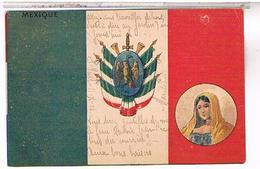 MEXIQUE DRAPEAU   US123 - Mexique