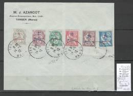 Maroc - VARIETE 2 Points Au Lieu De 3 Sur Lettre - SIGNE CALVES  - Yvert 25 A Au 32 B - RARE - Morocco (1891-1956)