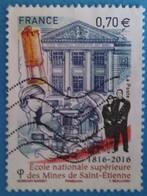France 2016 : Bicentenaire De L'Ecole Nationale Supérieure Des Mines De Saint-Etienne N° 5066 Oblitéré - France