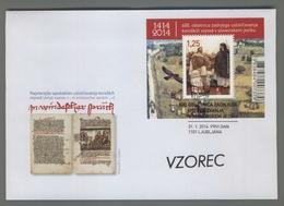 C4372 SLOVENIA FDC 2014 600 OBLETNICA ZADNJEGA USTOLICEVANJA KOROSKIH VOJVOD V SLOVENSKEM JEZIKU 1.25 - Slowenien