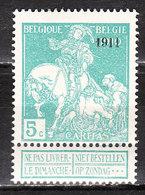 97*  Caritas Surchargée 1911 - Bonne Valeur - MH* - LOOK!!!! - 1910-1911 Caritas