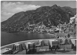 Amalfi Vista Dal Castello Saraceno, Unused Real Photo, Vera Fotografia Postcard [23099] - Salerno