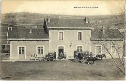 48 LOZERE MARVEJOLS Extérieur De La Gare Diligences TBE - Marvejols