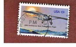 STATI UNITI (U.S.A.) - SG 1686  - 1977 LINDBERGH' S FLIGHT   - USED - Usati