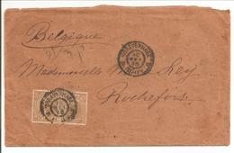 Hangend Haar. Paartje 15ct HC39 - Periode 1891-1948 (Wilhelmina)