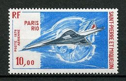 SPM MIQUELON  PA N° 62 ** Neuf MNH Superbe C 39 € Concorde Avions Planes Paris Dakar Transports - Neufs