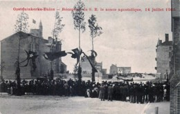 Belgique - Oostduinkerke-Bains - Réception De S.E. Le Nonce Apostolique - 14 Juillet 1906 - Oostduinkerke