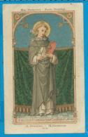 Holycard    St. Augustin    147    St. Domenicus Confessor - Images Religieuses
