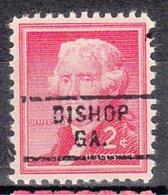 USA Precancel Vorausentwertung Preo, Locals Georgia, Bishop 729 - Vereinigte Staaten