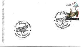 SG0518  - ANNULLO TRENTO CENTRO - FESTE VIGILIANE - 26.6.2005 - 6. 1946-.. Repubblica