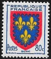 N° 959  FRANCE  -  NEUF  -   BLASON BERRY -  1953 - Francia