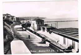 S. Vito Chietino Stazione FF SSs. Vito Lanciano Anni 50 Ferrovia - Chieti