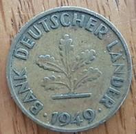 Germany Deutschland   10 Pfennig 1949 J - 10 Pfennig