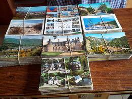 UN LOT DE 1000 CARTES CPM/CPSM.GF . VOIR 15 SCANS DE 6 CARTES - Cartes Postales