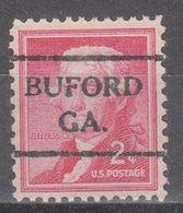 USA Precancel Vorausentwertung Preo, Bureau Georgia, Buford 716 - Vereinigte Staaten