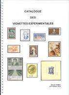 Ancienne édition Catalogue G GOMEZ_des Vignettes Expérimentales De 2014 (neuf) - Essais
