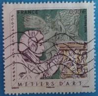 France 2016 : Les Métiers D'Art, Sculpteur Sur Pierre N° 5040 Oblitéré - France