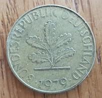 Germany Deutschland   10 Pfennig 1979 J - 10 Pfennig