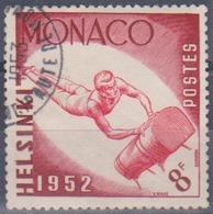 Timbre De Monaco 1953  Jeux Olympiques D' Helsinki 1952 Cheval-arçons Y&T N° 390 Obli - Gebruikt
