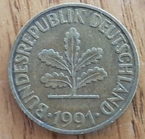 Germany Deutschland   10 Pfennig 1991 G - 10 Pfennig
