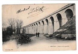 §  FRANCE / CPA  / PROVINS / VIADUC DE LONGUEVILLE : 1903 - Provins