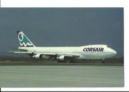 CP AVION BOEING 747 121 CORSAIR CORSE AIR INTERNATIONAL F-GIMJ ORLY AIRPORT EDIT MARY JAYNE'S MSN19658 - 1946-....: Ere Moderne