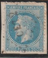 YT 29A Obl 20c Bleu, Oblitération CER2,Corps Expéditionnaire D'Italie, TB - France