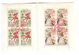 France 1975 Carnet Croix Rouge Cachet Premier Jour Le Creusot à L' Intérieur Du Carnet - Carnets