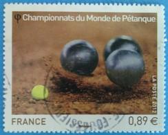 France 2012 :  Sport, Championnat Du Monde De Pétanque N° 4684 Oblitéré - France