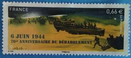 France 2014  : 70e Anniversaire Du Débarquement N° 4863 Oblitéré - France