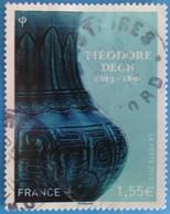 France 2013 : Théodore Deck, Céramiste Français N° 4797 Oblitéré - France
