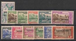 Inini - 1939-40 - N°Yv. 36 à 47 - Série Complète - Neuf Luxe ** / MNH / Postfrisch - Inini (1932-1947)