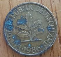 Germany Deutschland   10 Pfennig 1986 F - 10 Pfennig
