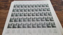 LOT 445382 TIMBRE DE FRANCE NEUF** LUXE N°1105 FEUILLE COMPLETE BLOC - Feuilles Complètes