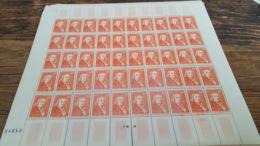 LOT 445384 TIMBRE DE FRANCE NEUF** LUXE N°844 FEUILLE COMPLETE BLOC - Feuilles Complètes