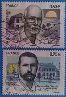 France 2013 : Alexandre Yersin N° 4798 Et 4799 Oblitérés - France