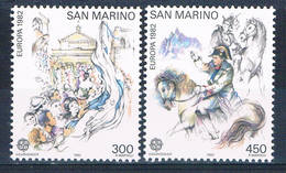 San Marino 1019-20 MNH Set Europa 1982 CV 5.25 (S0864) - San Marino